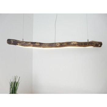 Lampe à suspension LED en bois flotté ~ 100 cm
