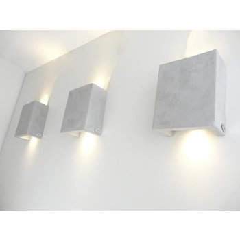 Wall lamp concrete lamp
