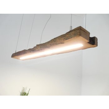 LED lamp hanging lamp wood antique beams ~ 97 cm