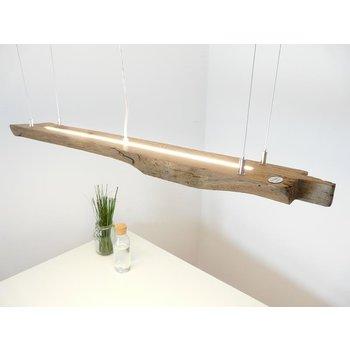 rustikale LED Lampe Hängeleuchte Holz antik Balken ~ 110 cm
