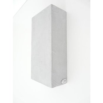 Wall lamp concrete lamp, height 29 cm, width 14.5 cm