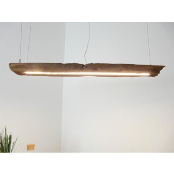 LED lamp hanging lamp made of antique beams ~ 96 cm