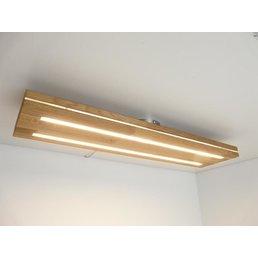Ceiling lamp sandwich wood, oiled oak ~ 80 cm