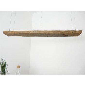 Lampe à suspension LED en poutres anciennes ~ 127 cm