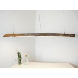 Lampe à suspension Lampe en bois flotté ~ 176 cm
