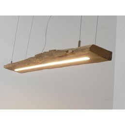 LED lamp hanging lamp made of antique beams ~ 94 cm