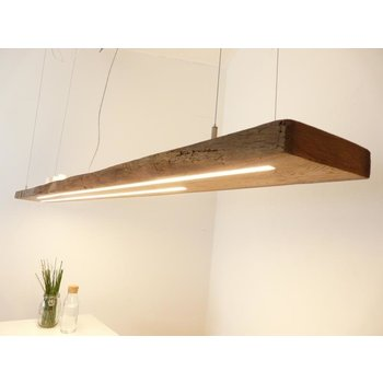 XXL LED Lamp Hanging lamp wood antique beams ~ 217 cm - Copy