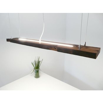 Bar light hanging light wood dark oiled ~ 103 cm