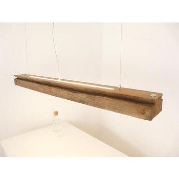 grande suspension massive en poutres anciennes ~ 151 cm