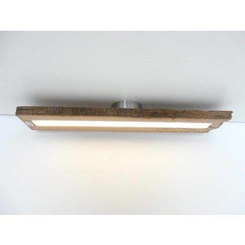Deckenleuchte aus antiken Balken  mit Dimmer~ 77 cm