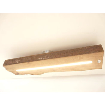 LED Deckenleuchte aus antiken Balkenleuchte ~ 64 cm
