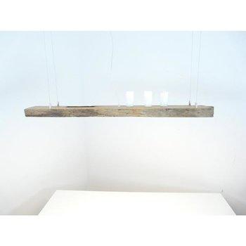 LED Lampe Hängeleuchte Holz antik Balken ~ 113 cm