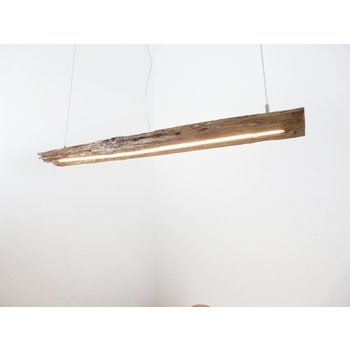 LED lamp hanging lamp made of antique beams ~ 99 cm