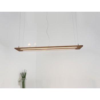 Hängelampe Leuchte Holz Akazie ~ 80 cm
