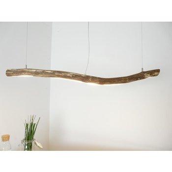 Lampe à poser en bois ~ 108 cm