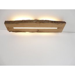 Antique wood ceiling lamp with indirect lighting ~ 74 cm