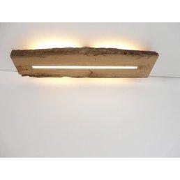 Deckenleuchte Holz antik mit indirekter Beleuchtung ~ 74 cm