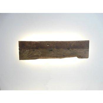 Applique LED en bois ancien ~ 70 cm
