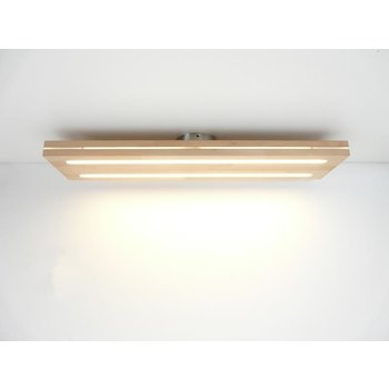 Ceiling lamp sandwich wood beech ~ 80 cm