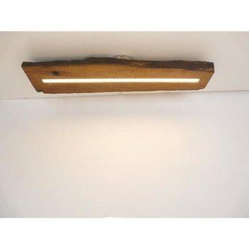 LED Lampe Deckenlampe Holz antik Balken ~ 72 cm
