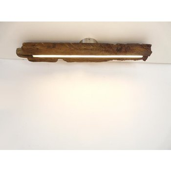 LED lamp ceiling lamp wood antique beams ~ 80 cm