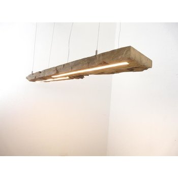 LED lamp hanging lamp wood antique beams ~ 119 cm