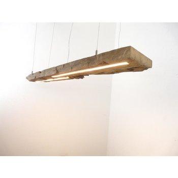 LED Lampe Hängelampe Holz antik Balken ~ 119 cm