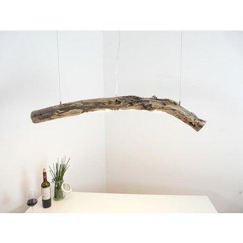 Lampe à suspension LED en bois flotté ~ 111 cm