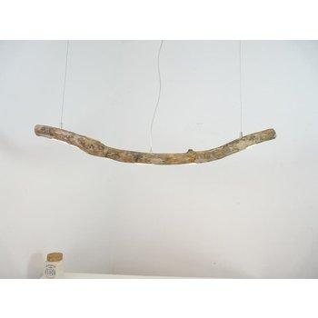 Lampe LED en bois flotté Lampe en bois flotté ~ 122 cm