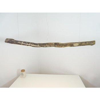 Lampe LED en bois flotté Lampe suspendue en bois flotté ~ 151 cm