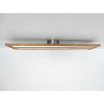 Plafonnier bois, chêne huilé ~ 120 cm