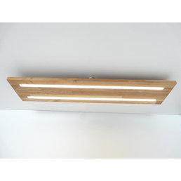 Ceiling light wood, oiled oak ~ 80 cm