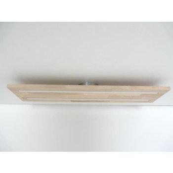 Plafonnier bois hêtre ~ 120 cm