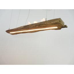 LED lamp hanging lamp wood antique beams ~ 96 cm