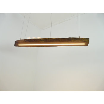 LED lamp hanging lamp wood antique beams ~ 107 cm