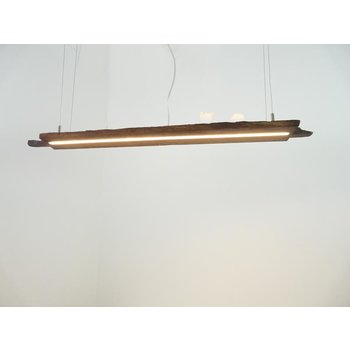 LED Lampe Hängeleuchte Holz antik Balken ~ 107cm