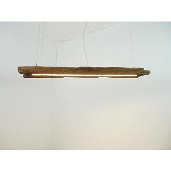 suspension rustique en poutres anciennes ~ 118 cm