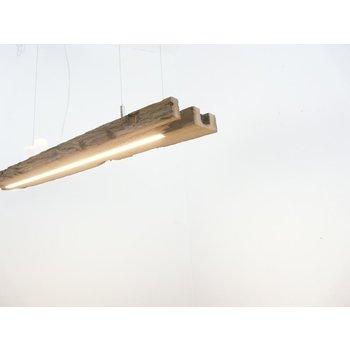 LED Lampe Hängelampe aus antiken Balken ~105 cm