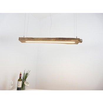 Lampe sur poutre ancienne ~ 102 cm