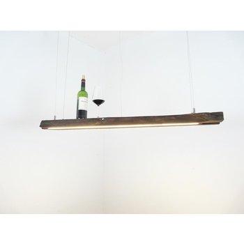 Lampe en poutres anciennes ~ 119 cm