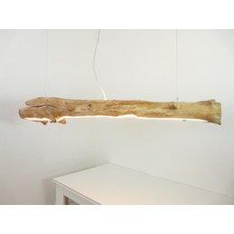 große Treibholzleuchte mit Ober- und Unterlicht ~ 150 cm