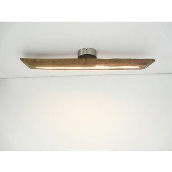 Lampe LED plafonnier bois poutres anciennes ~ 82 cm