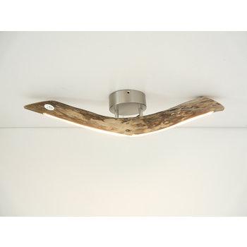 kleine LED Lampe Deckenleuchte Treibholz ~67 cm