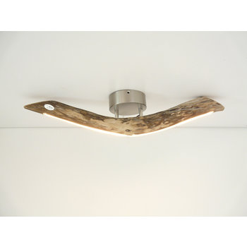 small LED lamp ceiling lamp driftwood ~ 67 cm