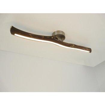 Lampe LED plafonnier bois flotté ~ 80 cm