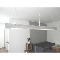 Led concrete lamp ~ 120 cm