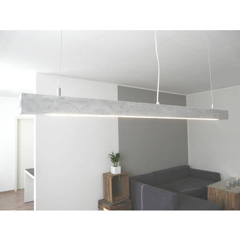 Concrete lamp ~ 120 cm