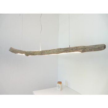 LED  Schwemmholzlampe mit Ober- und Unterlicht ~ 150 cm