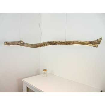 LED driftwood lamp driftwood hanging lamp ~ 171 cm