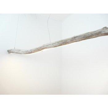 Lampe LED bois flotté suspension bois flotté ~ 255 cm